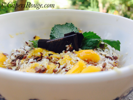 Mango Oatmeal Recipe