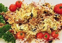 Mint Scrambled Egg