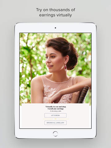 CARATLANE LAUNCHES THE WORLD'S FIRST VIRTUAL JEWELLERY TRY-ON APP
