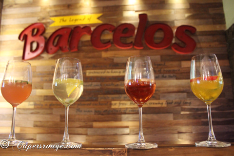 Barcelos Introduces 'Salads & Sangria'