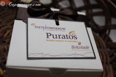 Puratos : Taste Tomorrow