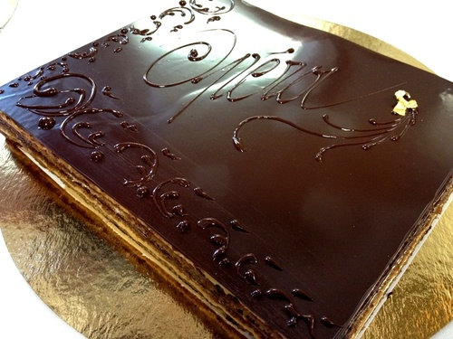 L'Opera on the much loved Opera Cakes 60th