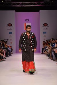 Babul Supriyo Union minister & BJP MP from West Bengal's Asansol walked the ramp for designer Agni Mitra Paul.