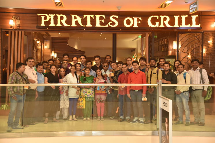 THE PIRATES OF GRILL SOFT LAUNCH WITH ALL INDIA FEDERATION OF DEAF