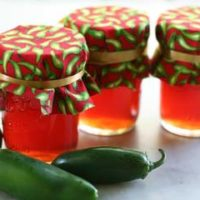 Sweet and Spicy Pepper Jelly